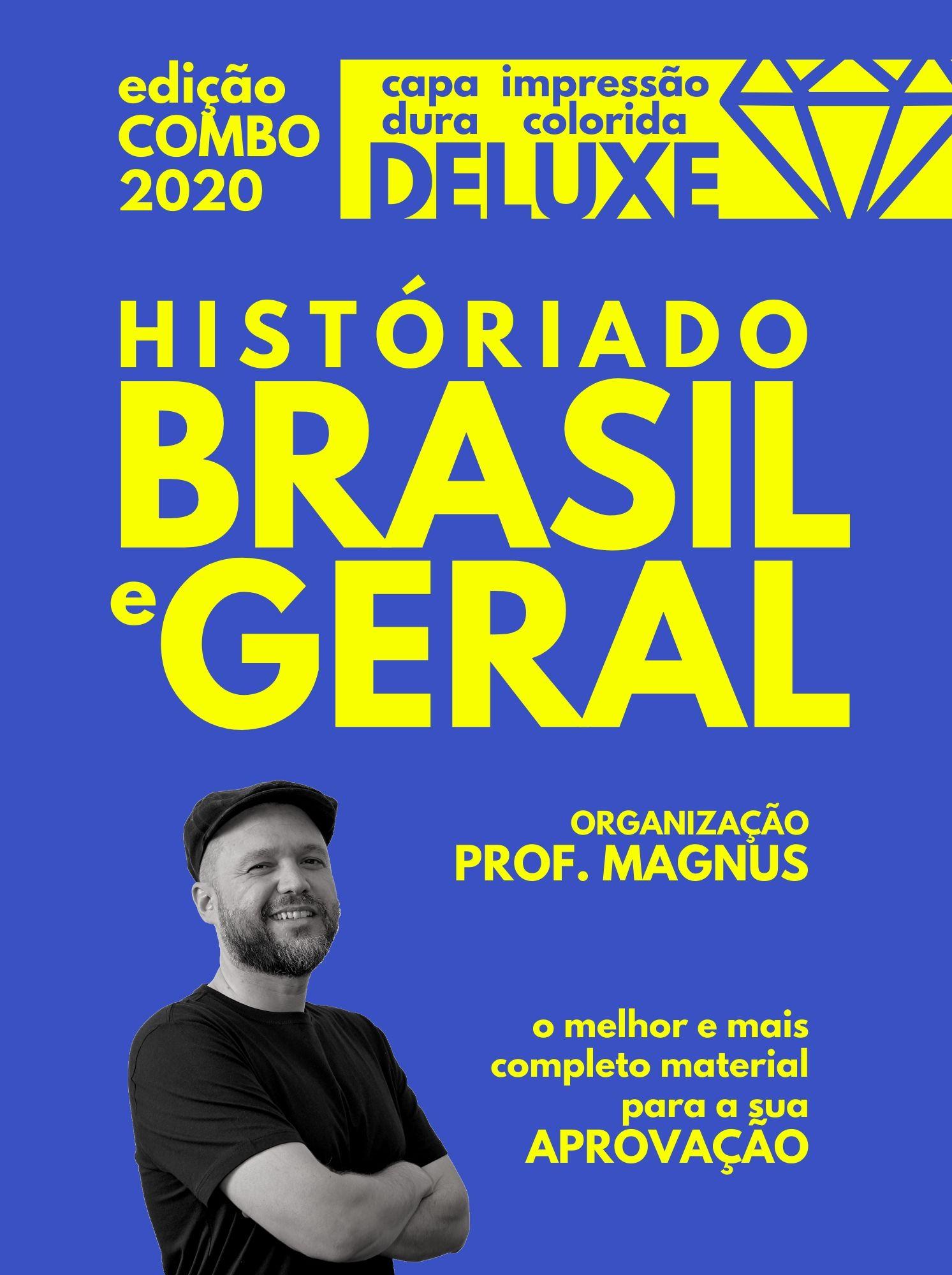 COMBO: vol. 1 e 2 [Brasil e Geral: edição deluxe]