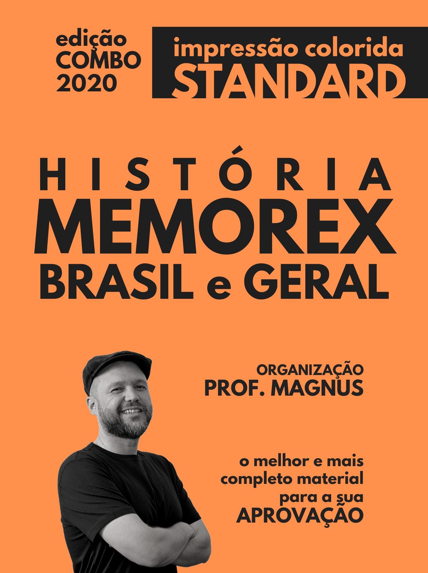 COMBO MEMOREX: Brasil e Geral (ed. standard)