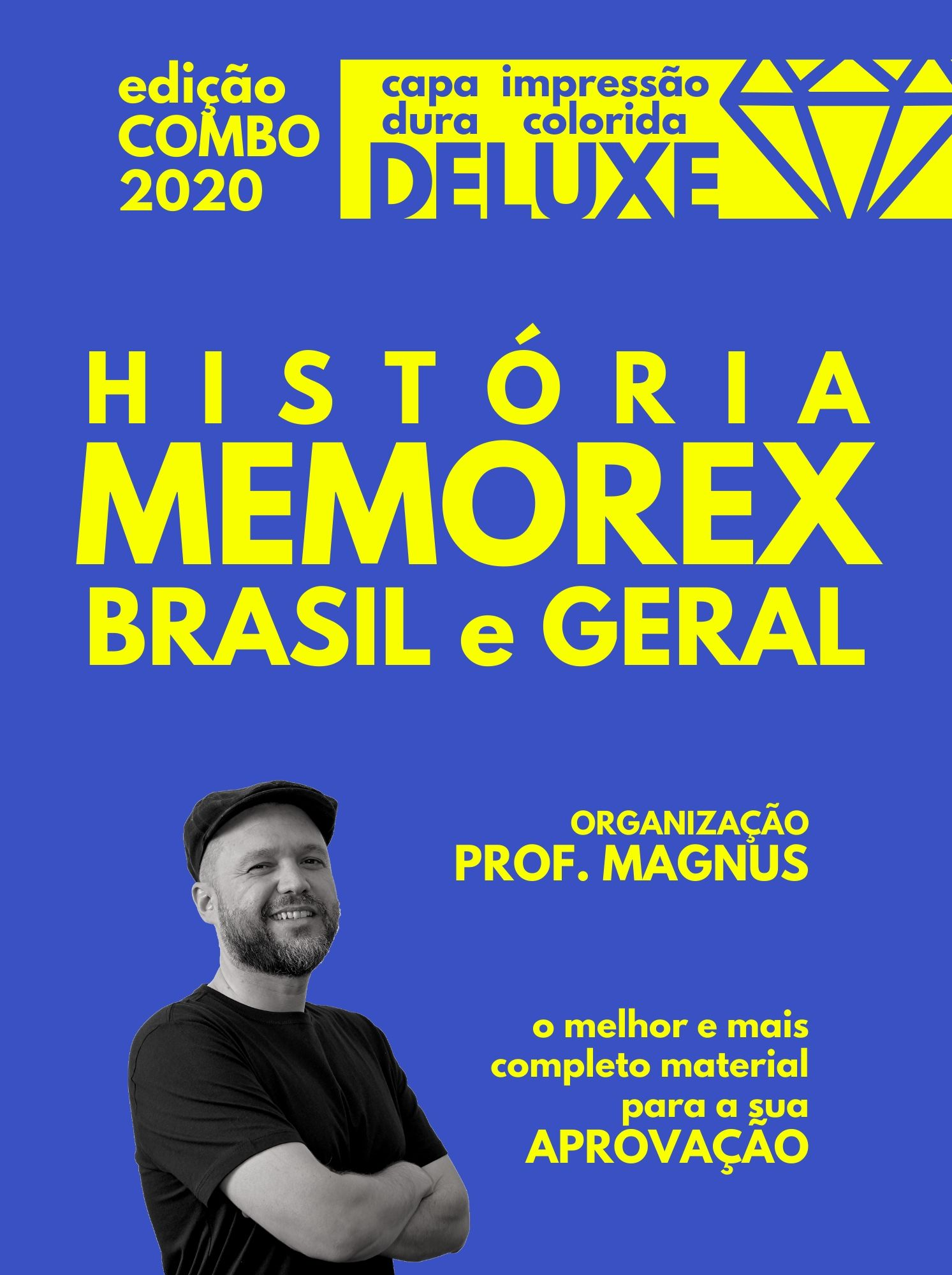 COMBO MEMOREX: Brasil e Geral (ed. deluxe)